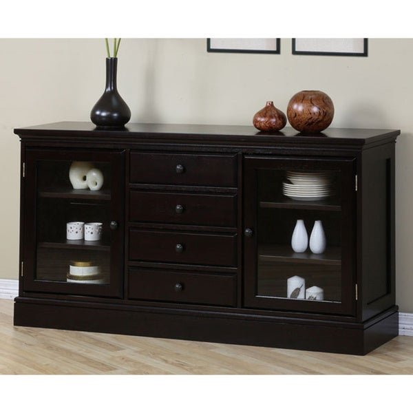 Espresso 4-drawer Buffet