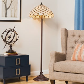 Tiffany-style Jewel Floor Lamp