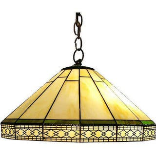 Yellow ceiling lights for less overstock tiffany style roman hanging lamp aloadofball Image collections