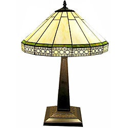 Tiffany-style Roman Table Lamp
