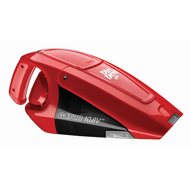Dirt Devil Gator BD10100 Cordless Hand Vacuum (BD10100), Red