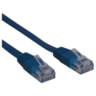 Tripp Lite 25ft Cat6 Gigabit Snagless Molded Patch Cable RJ45 M/M Blu