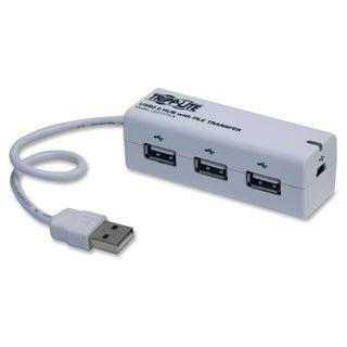 Tripp Lite 3-Port USB 2.0 Hub w/ Built In File Transfer Plug and Play