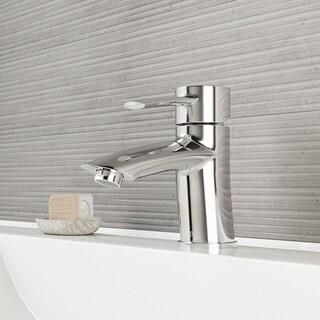 VIGO Bova Bathroom Single Hole Faucet in Chrome
