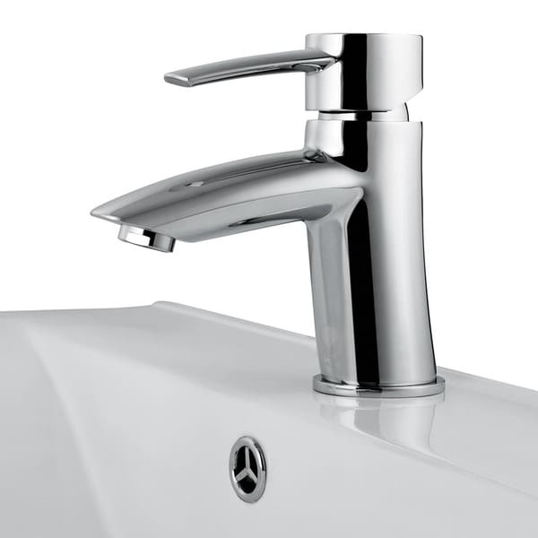 VIGO Bova Bathroom Single Hole Faucet in Chrome