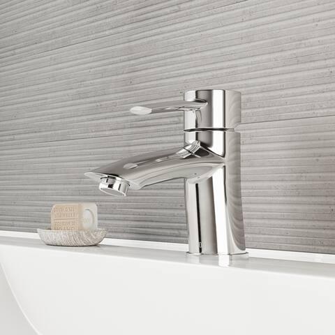 VIGO Bova Chrome Single Hole Bathroom Faucet