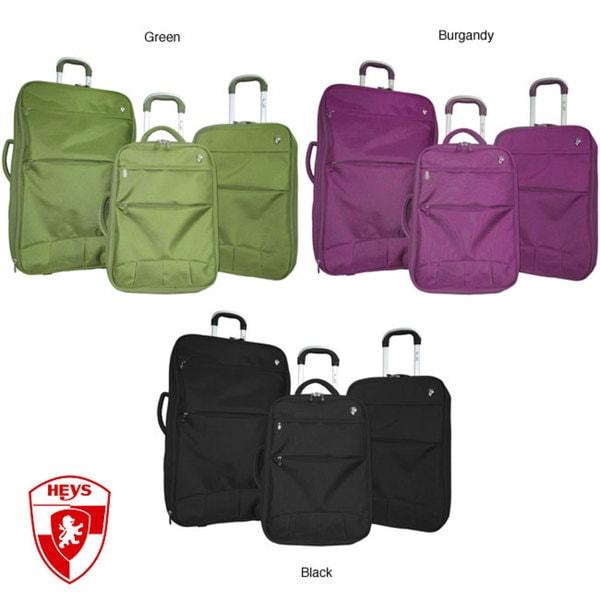 Heys Fuse X3 Hybrid 3-piece Luggage Set