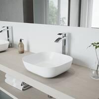 VIGO Duris Chrome Vessel Bathroom Faucet