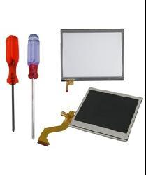 Bottom and Top LCD Screen Replacements and Screwdriver For Nintendo DS Lite