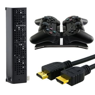 Insten Controller Charger/ HDMI Cable/ Cooler for SONY PS3