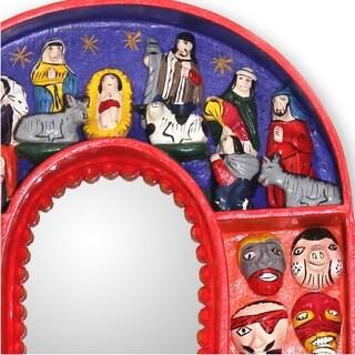 Handmade 'Jesus in Ayacucho' Mirror (Peru)