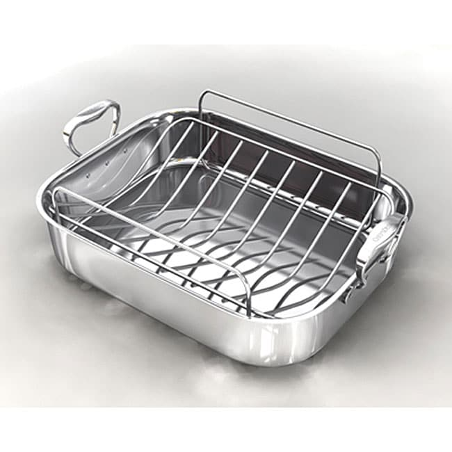 Chef's Design Stainless Steel French Roaster
