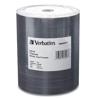 Verbatim CD-R 700MB 52X DataLifePlus White Thermal Printable, Hub Pri