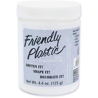 Friendly Plastic Ivory Color 4.4-oz Pellet Bucket