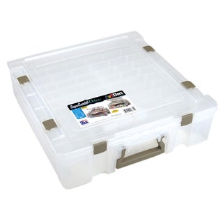 Art Bin Deluxe Translucent Super Satchel