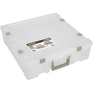 Artbin Deluxe Translucent Multi-compartment Super Satchel Storage Unit
