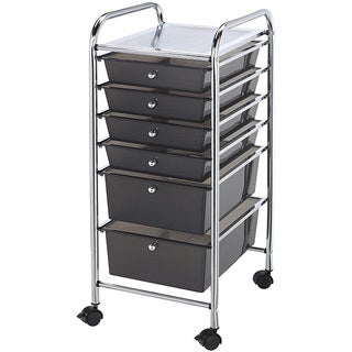 Blue Hills Studio 6-drawer Smoke Storage Cart