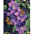 Paint by Number 'Clematis and Butterflies' Kit