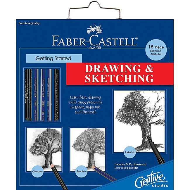 Creative Studio Getting Started Drawing and Sketching Art Kit