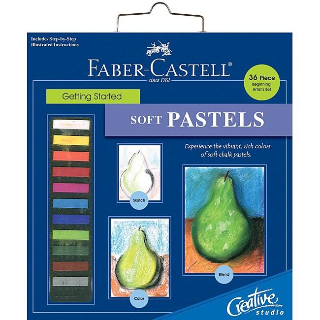 Creative Studio Getting Started Soft Pastels Art Kit
