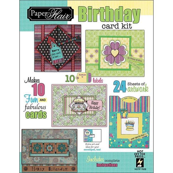 Paper Flair Birthday Card Kit
