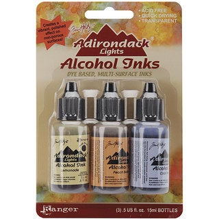 Adirondack Lights Assorted Alcohol Ink (Pack of 3)