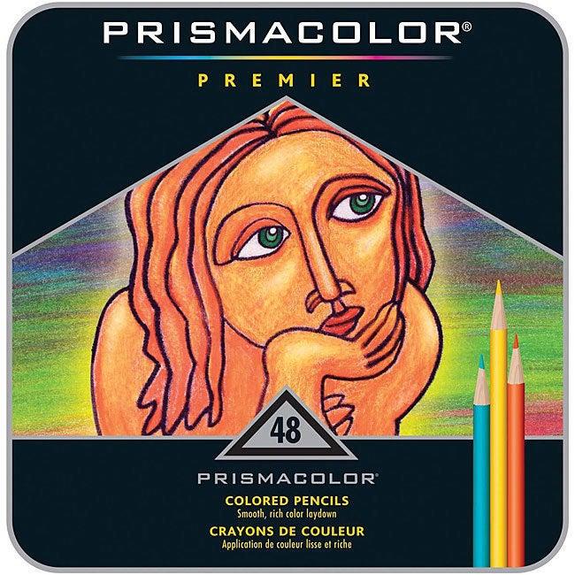 Sanford Prismacolor Premier Colored Pencils 48 Per Package-