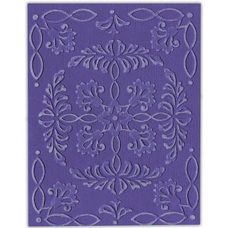 Sizzix Textured Impressions Ornate Flowers and Frame Embossing Folders