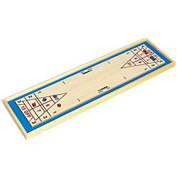 Portable Wood Shuffleboard Game