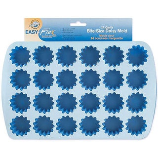 Wilton Easy-flex Silicone Bite-size 24-cavity Daisy Mold