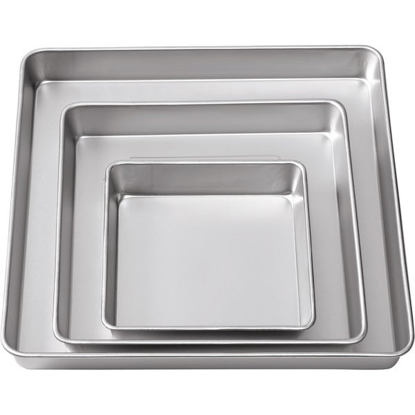 Wilton 3-tier Square Cake Pan Set (Pack of 3 Pans)