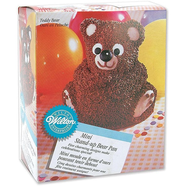Wilton Mini Bear Stand-up Cake Pan