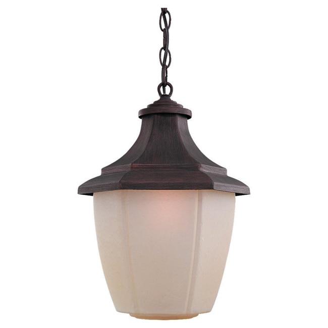 Sea Gull Lighting 1-light Rust Patina Outdoor Pendant