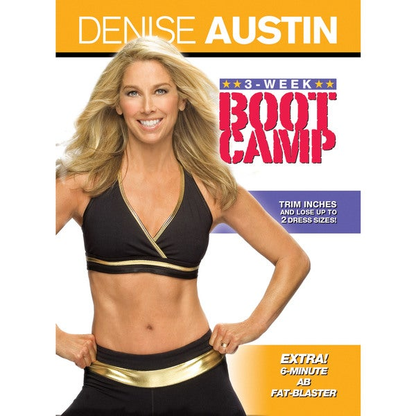 Denise Austin: 3-Week Boot Camp (DVD)