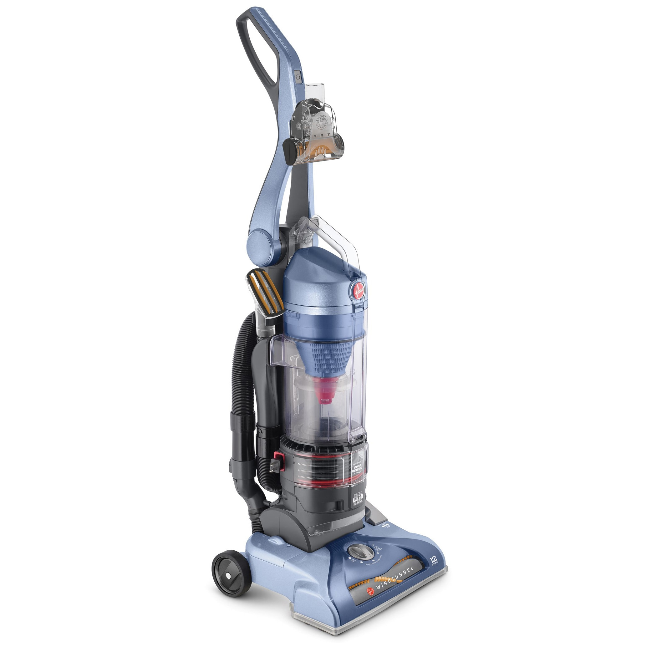 Hoover WindTunnel T-series Pet Rewind Plus Bagless Uprigh...