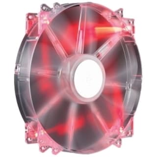 Cooler Master MegaFlow 200 - Sleeve Bearing 200mm Red LED Silent Fan