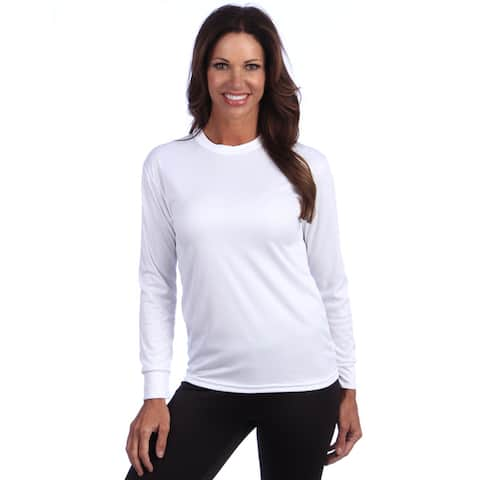 Kenyon Women's Poly-Lite Thermal Underwear Crew Top, Base Layer (USA)