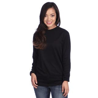 Poly Midweight Women's Thermal Crew Top|https://ak1.ostkcdn.com/images/products/4284844/4284844/Poly-Midweight-Womens-Thermal-Crew-Top-P12266604.jpg?impolicy=medium