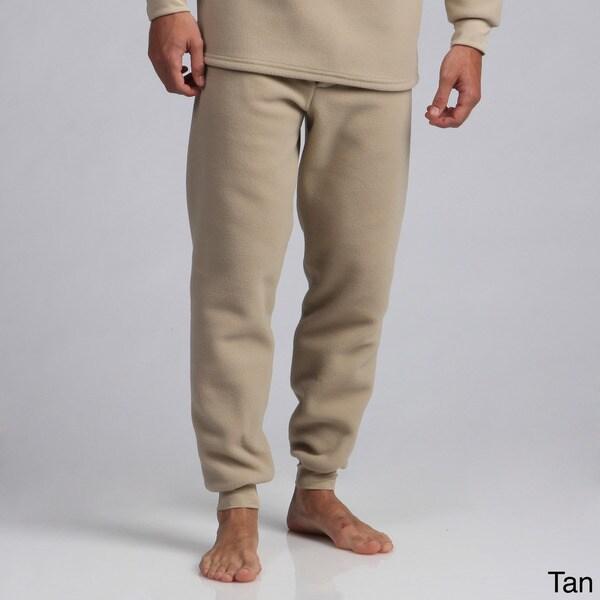 Expedition Men's Heavy Weight Fleece Thermal Pants