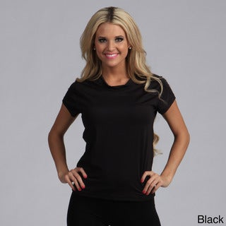 Kenyon Women's Everywear Short-sleeve Stretch Thermal Top (Black Medium)