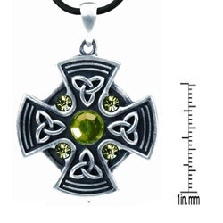 Pewter Celtic 'Shield of Protection' Necklace - Thumbnail 1