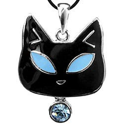 Pewter Blue Austrian Crystal Cat Necklace|https://ak1.ostkcdn.com/images/products/4285161/Pewter-Blue-Austrian-Crystal-Tiffany-Cat-Necklace-P12266830.jpg?impolicy=medium