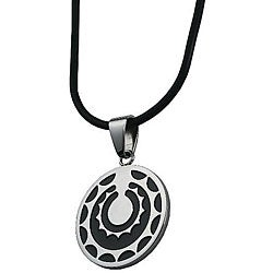 Stainless Steel Spiral Star Necklace