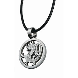 Stainless Steel Dragon Design Necklace