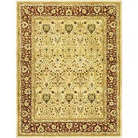 Safavieh Handmade Mahal Ivory/ Rust New Zealand Wool Rug - 9'6 x 13'6