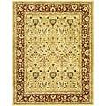 Safavieh Handmade Mahal Ivory/ Rust New Zealand Wool Rug - 9'6 x 13'6