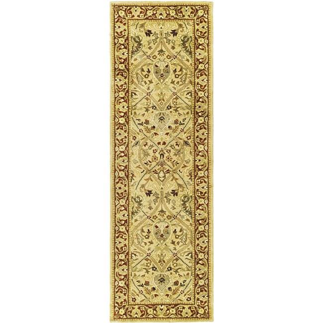 Safavieh Handmade Persian Legend Light Green Rust New: Shop Safavieh Handmade Mahal Ivory/ Rust New Zealand Wool