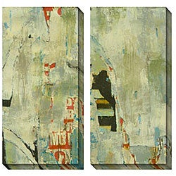 Gallery Direct Sara Abbott 'Grafitti I & II' Oversized Canvas Art Set