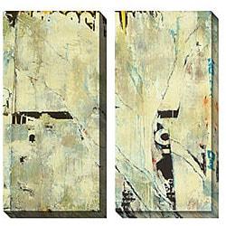 Gallery Direct Sara Abbott 'Grafitti III & IV' Oversized Canvas Art Set