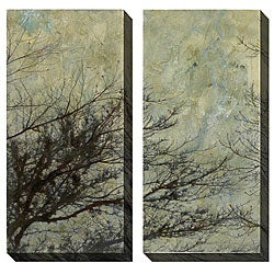Gallery Direct Sara Abbott 'The Twilight' Oversized Canvas Art Set